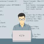 Développeur qui code