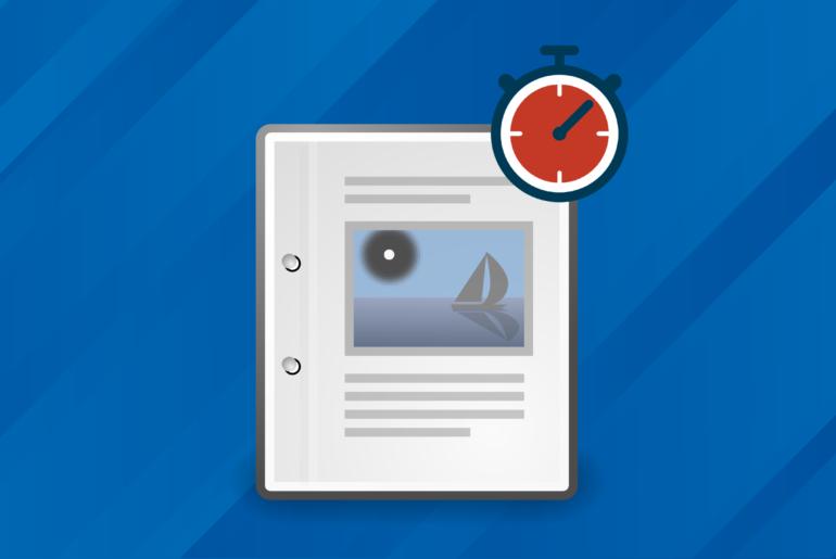 Ecrire un article en 10 minutes
